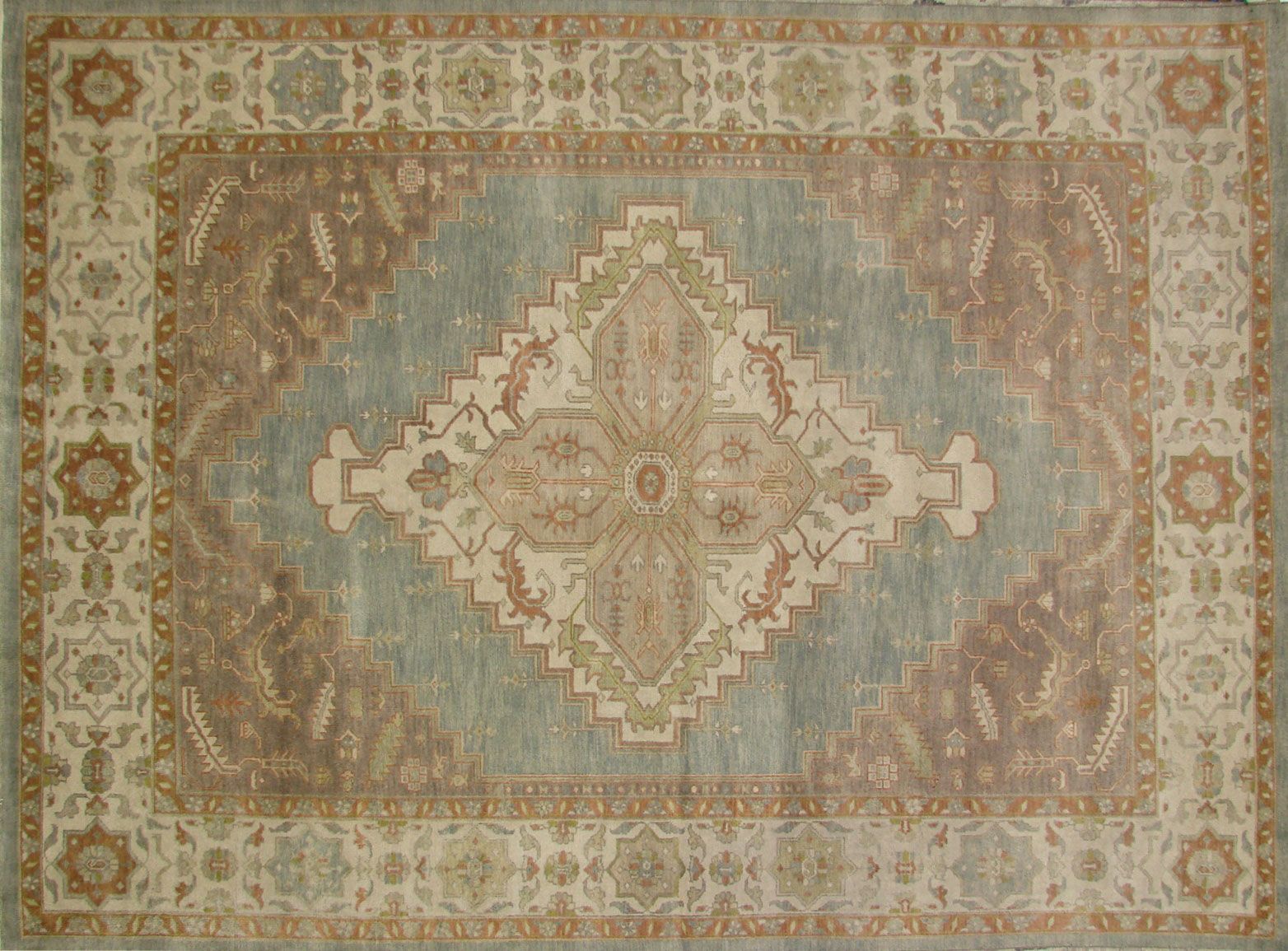 9x12 Heriz/Serapi Hand Knotted Wool Area Rug - MR18548