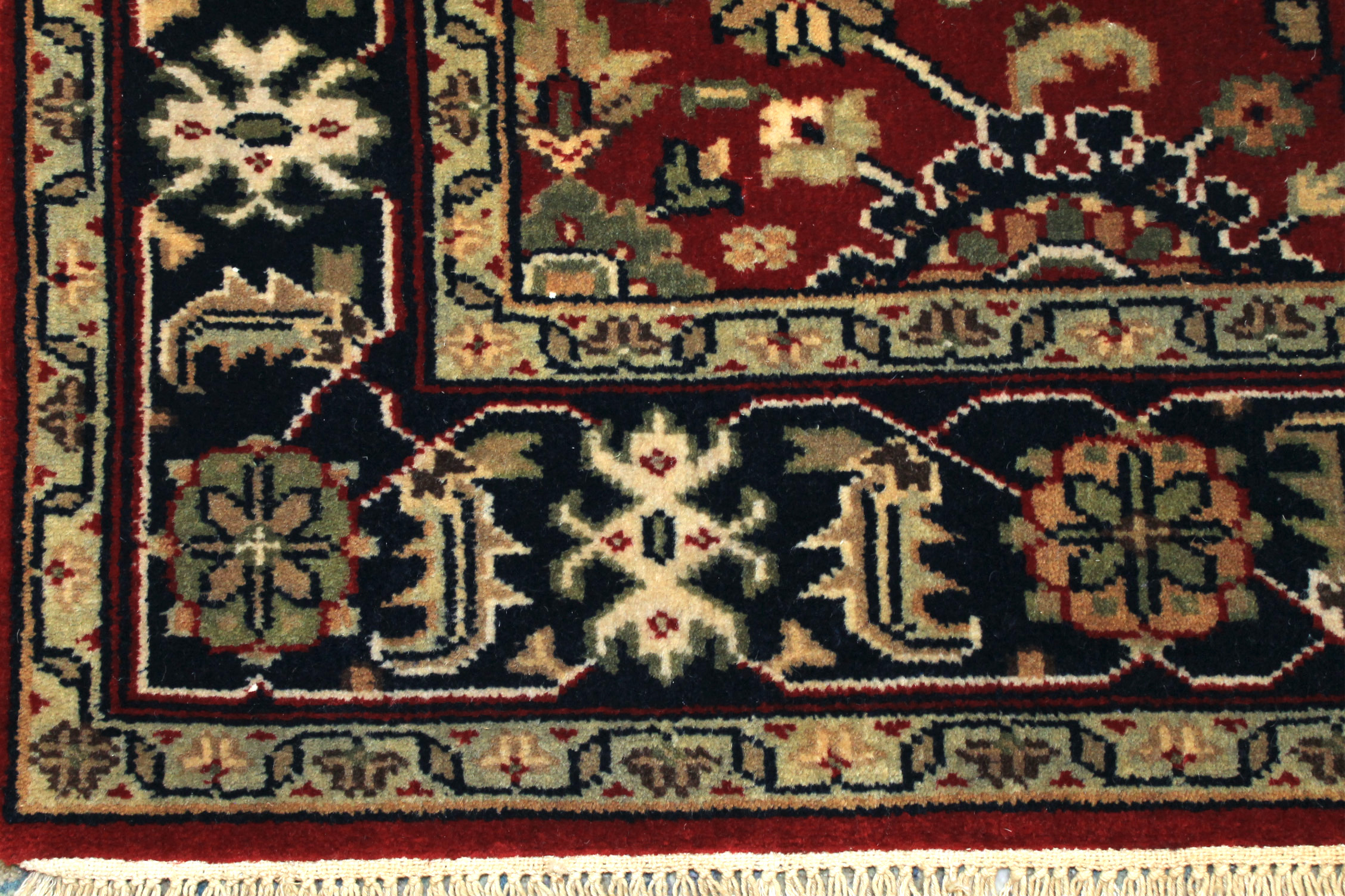 4x6 Traditional Hand Knotted Wool Area Rug - MR18549