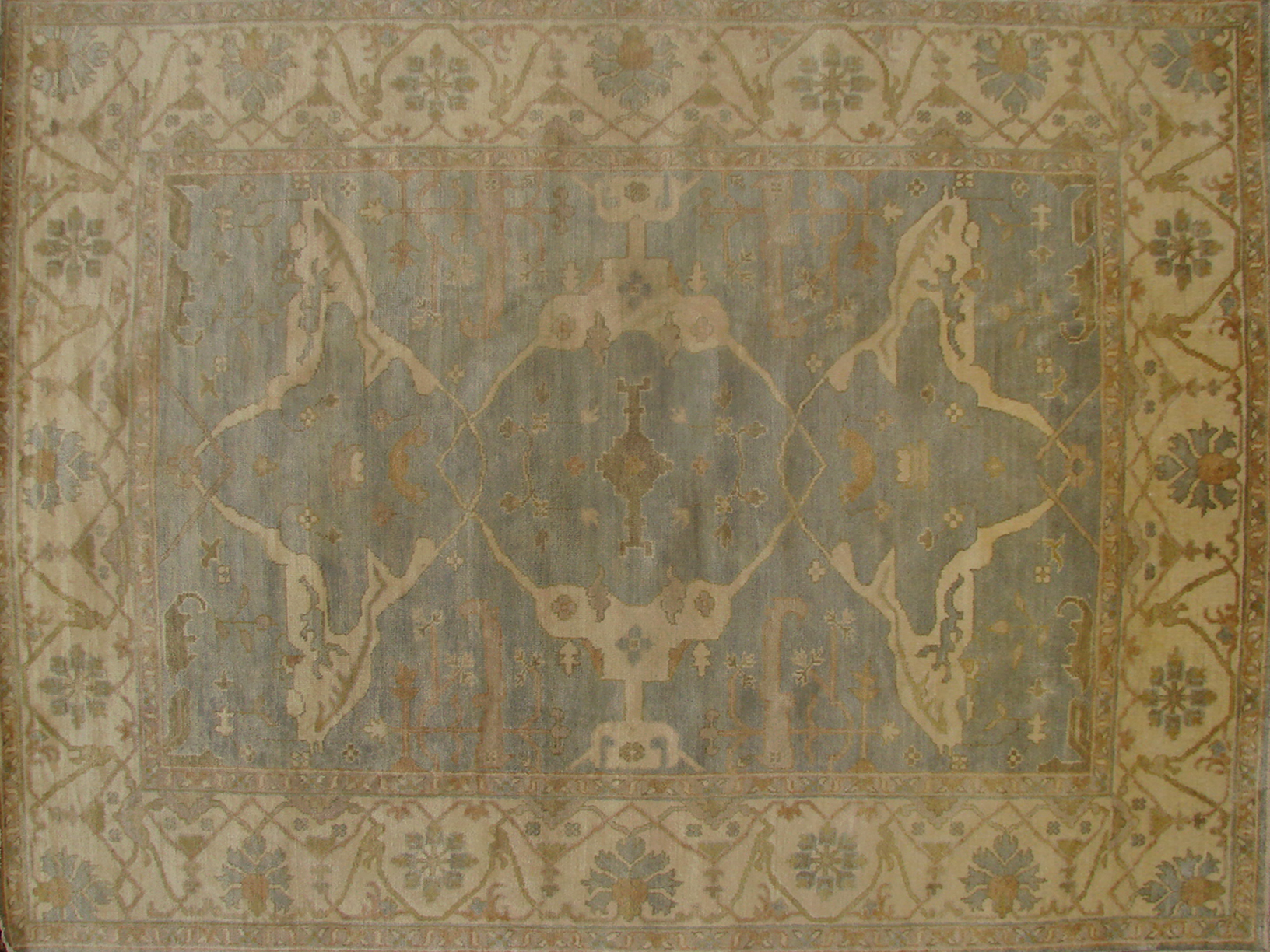 8x10 Oushak Hand Knotted Wool Area Rug - MR18769