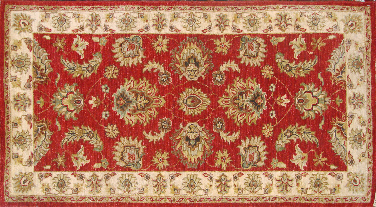 2X4 Traditional Hand Knotted Wool Area Rug - MR19087