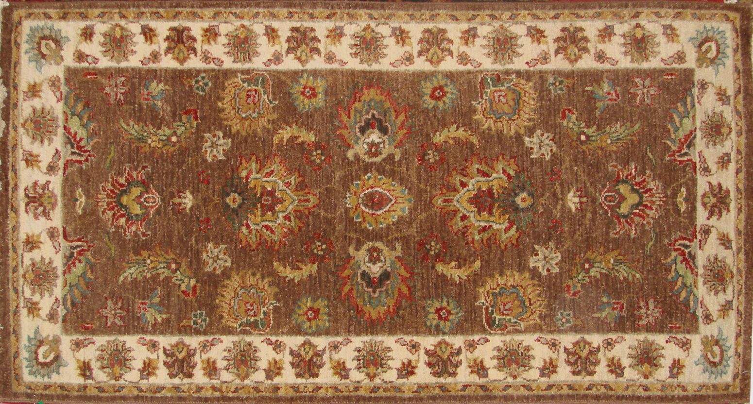 2X4 Traditional Hand Knotted Wool Area Rug - MR19088