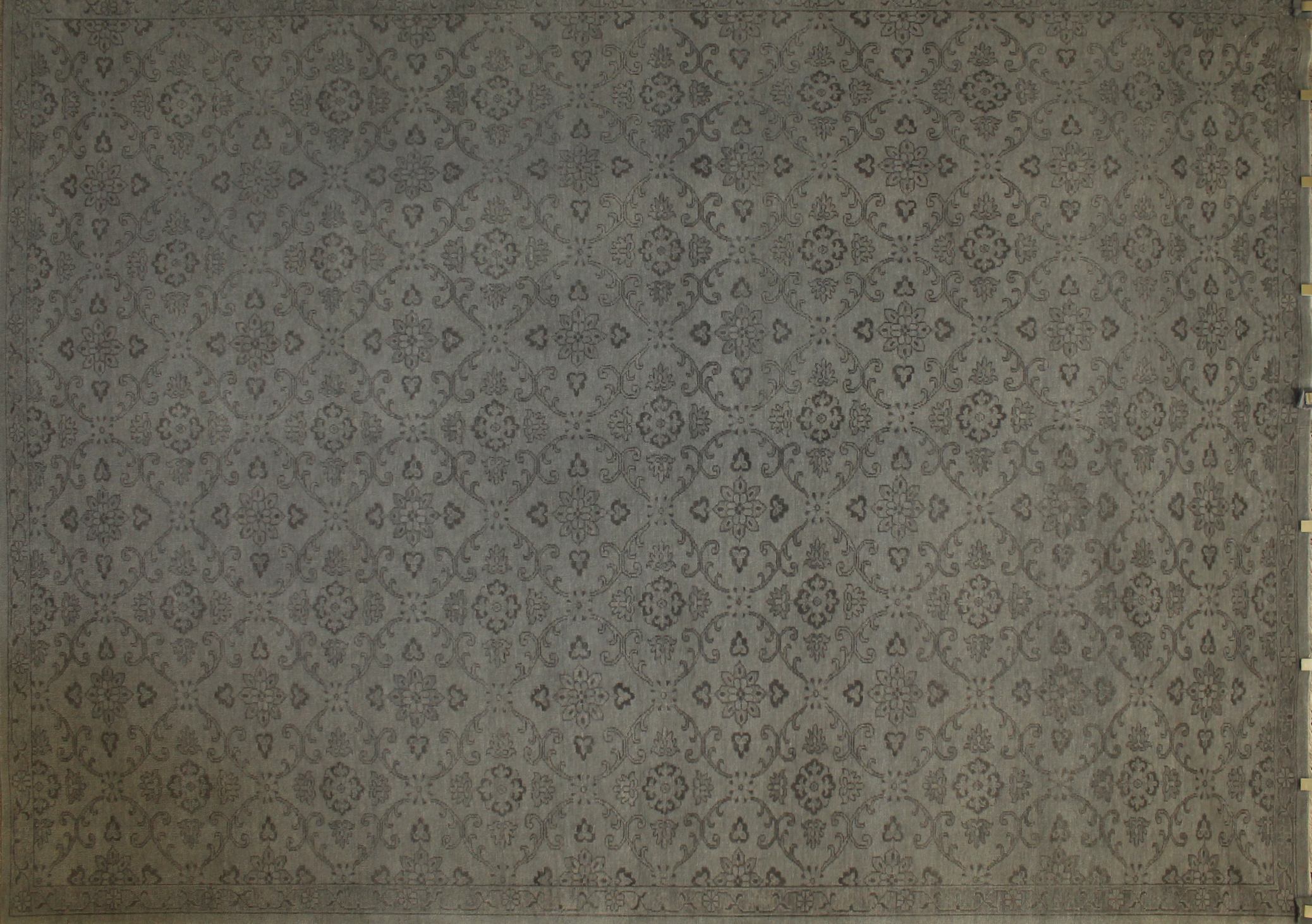 9x12 Oushak Hand Knotted Wool Area Rug - MR19106