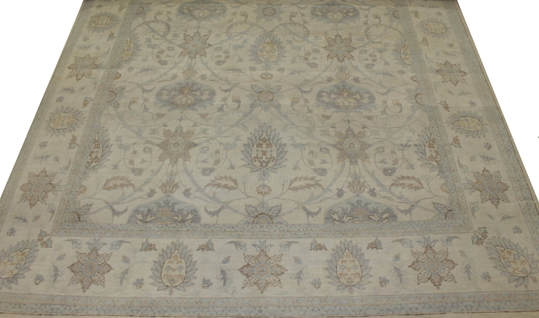 10x14 Antique Revival Hand Knotted Wool Area Rug - MR19114