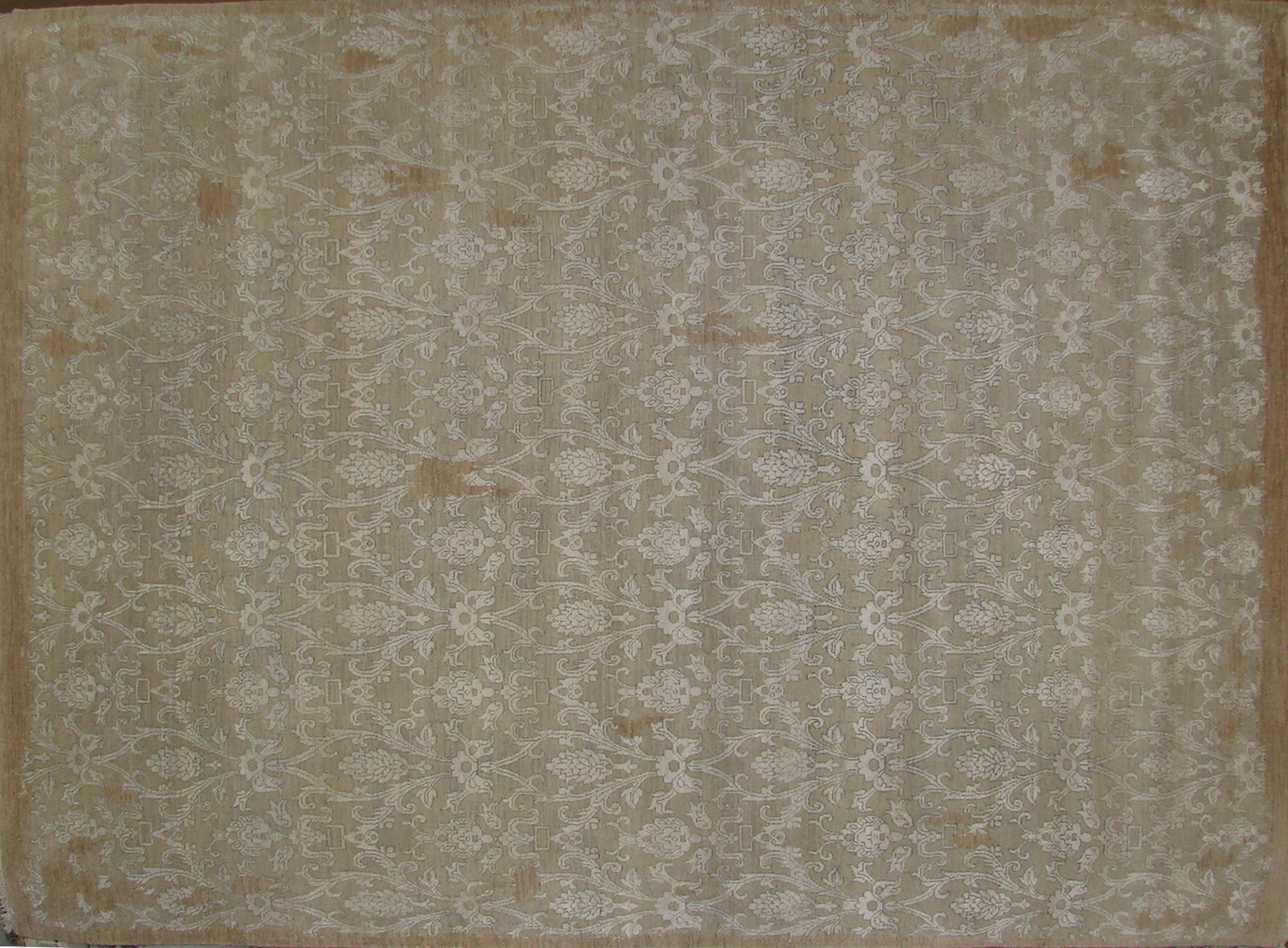 8x10 Contemporary Hand Knotted Wool Area Rug - MR19130