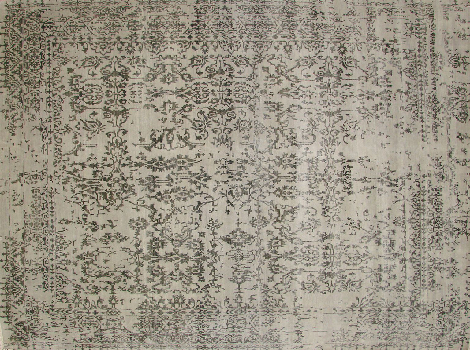 8x10 Contemporary Hand Knotted Wool Area Rug - MR19132