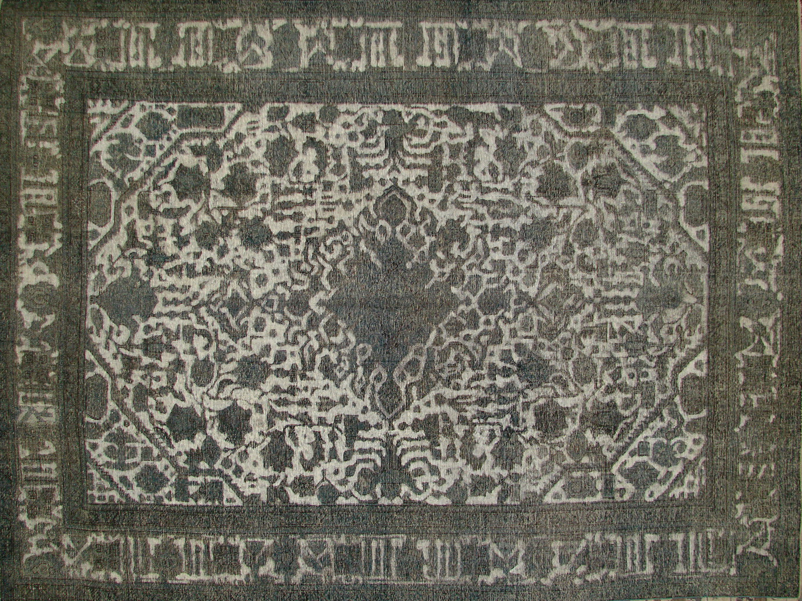 8x10 Vintage Hand Knotted Wool Area Rug - MR19267