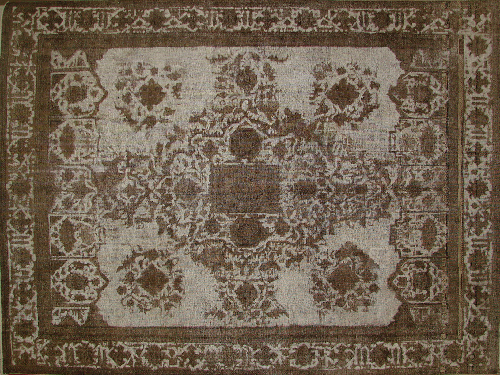 9x12 Vintage Hand Knotted Wool Area Rug - MR19271