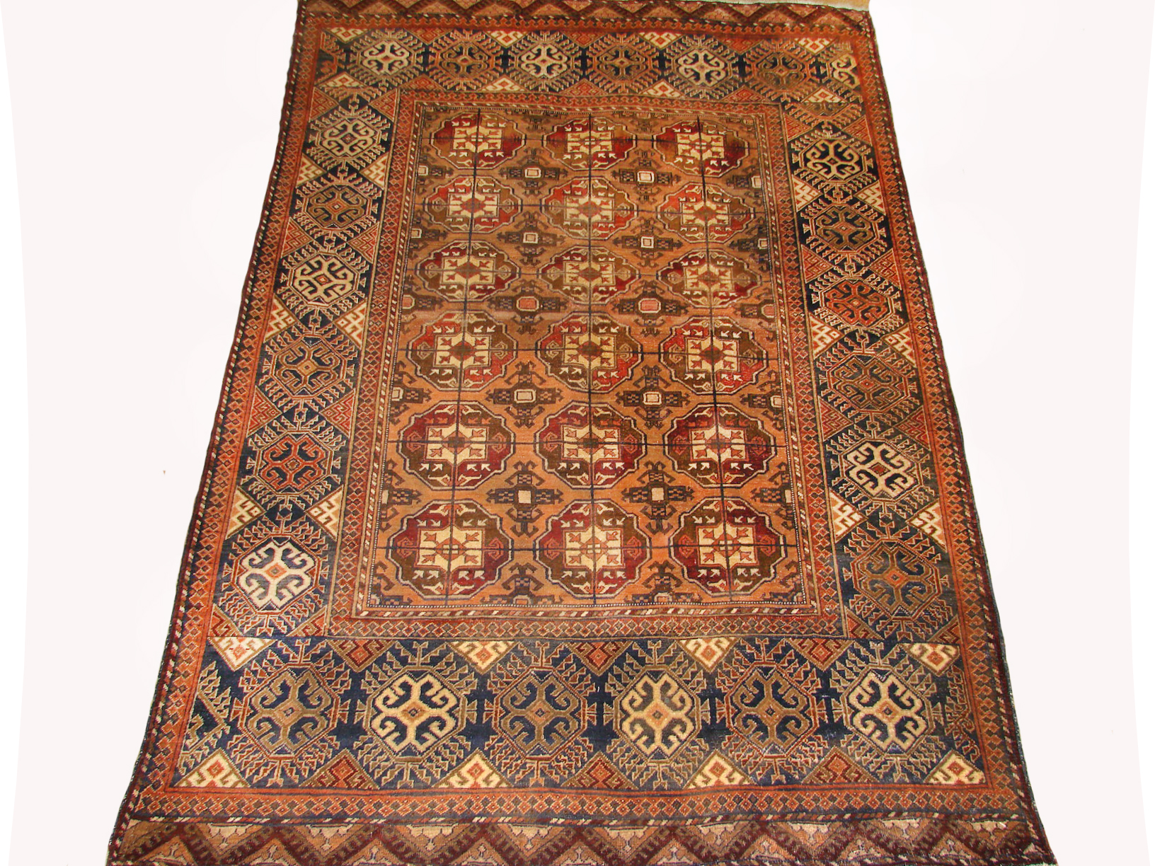 4x6 Bokhara Hand Knotted Wool Area Rug - MR19440
