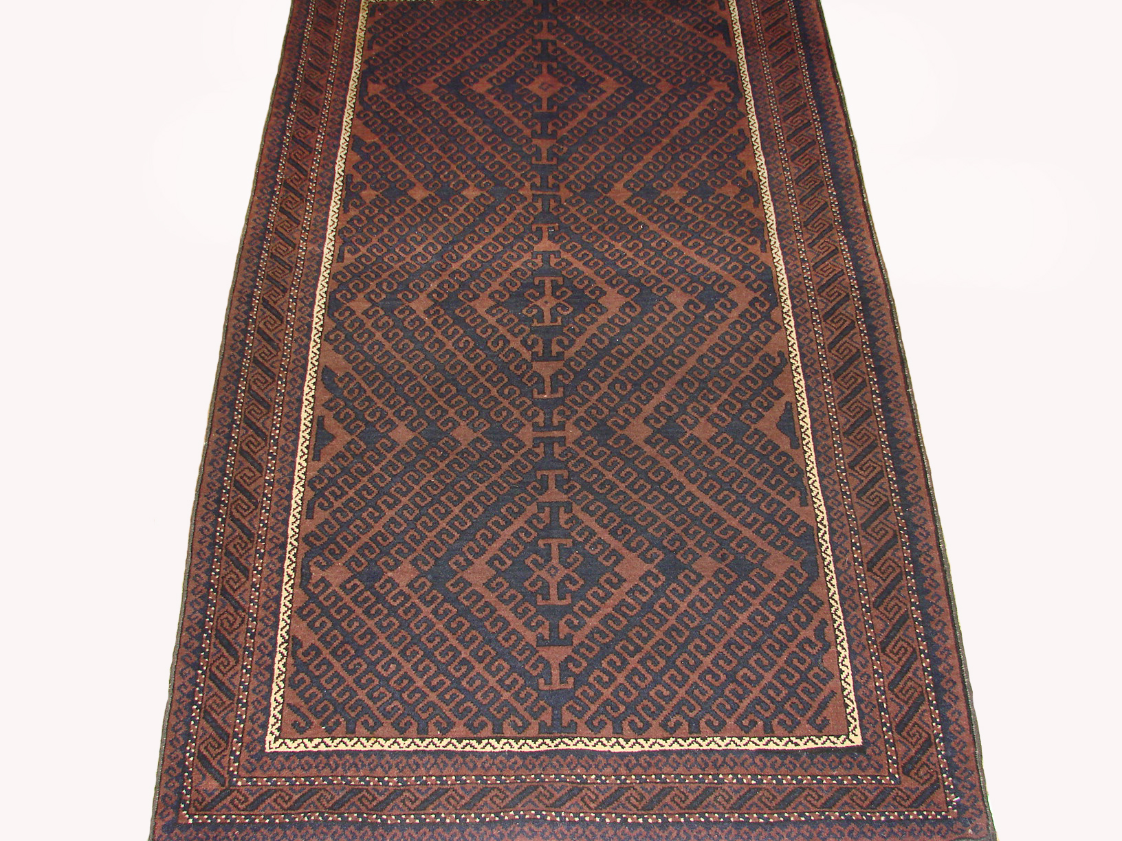 4x6 Kazak Hand Knotted Wool Area Rug - MR19451