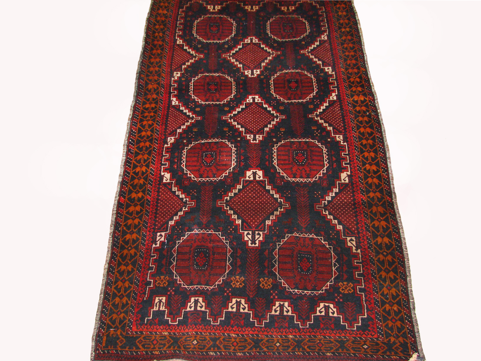 4x6 Kazak Hand Knotted Wool Area Rug - MR19455