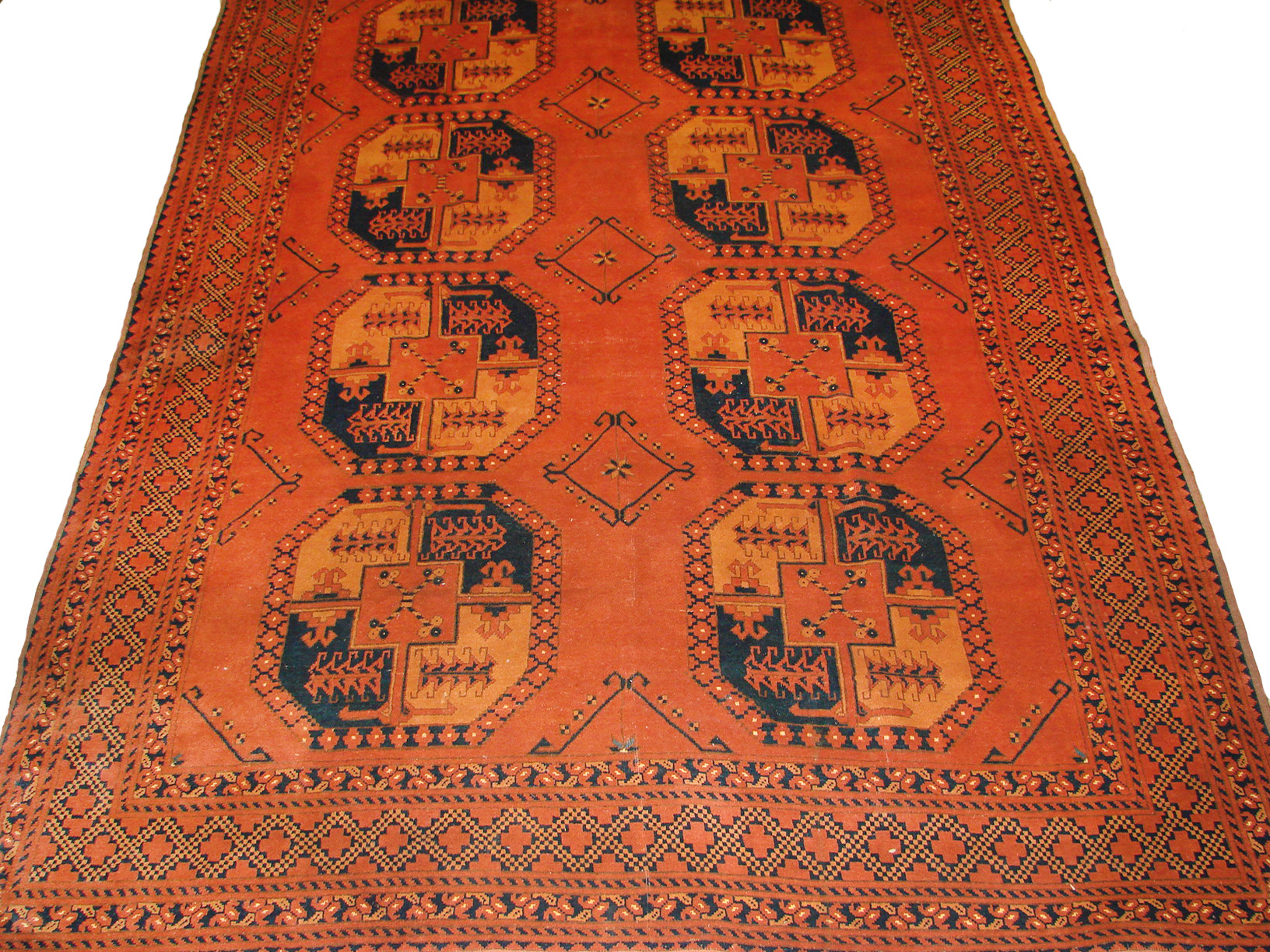 8x10 Bokhara Hand Knotted Wool Area Rug - MR19459