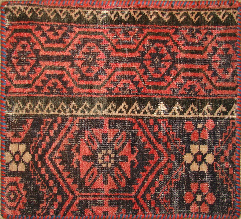 1.6X2 & SMALLER Kazak Hand Knotted Wool Area Rug - MR19463