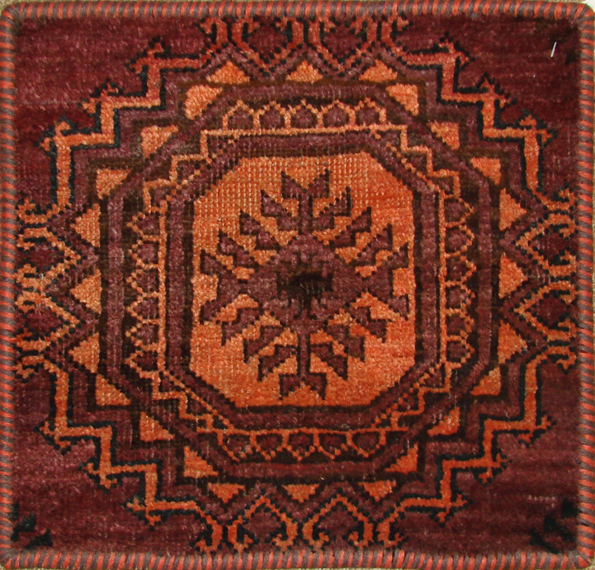 1.6X2 & SMALLER Kazak Hand Knotted Wool Area Rug - MR19469