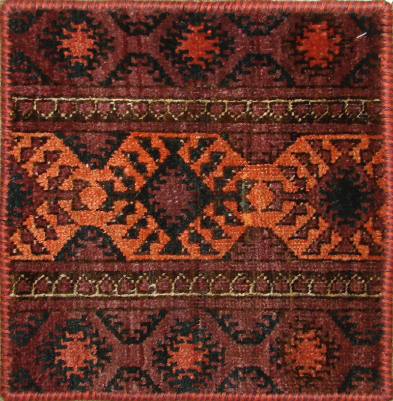 1.6X2 & SMALLER Kazak Hand Knotted Wool Area Rug - MR19471