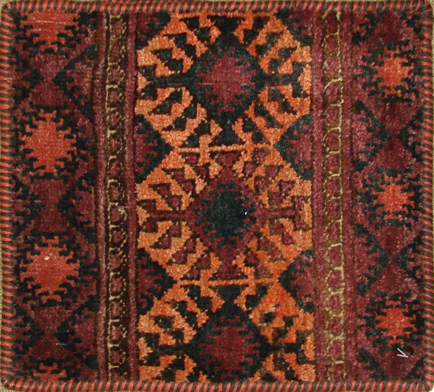 1.6X2 & SMALLER Kazak Hand Knotted Wool Area Rug - MR19472