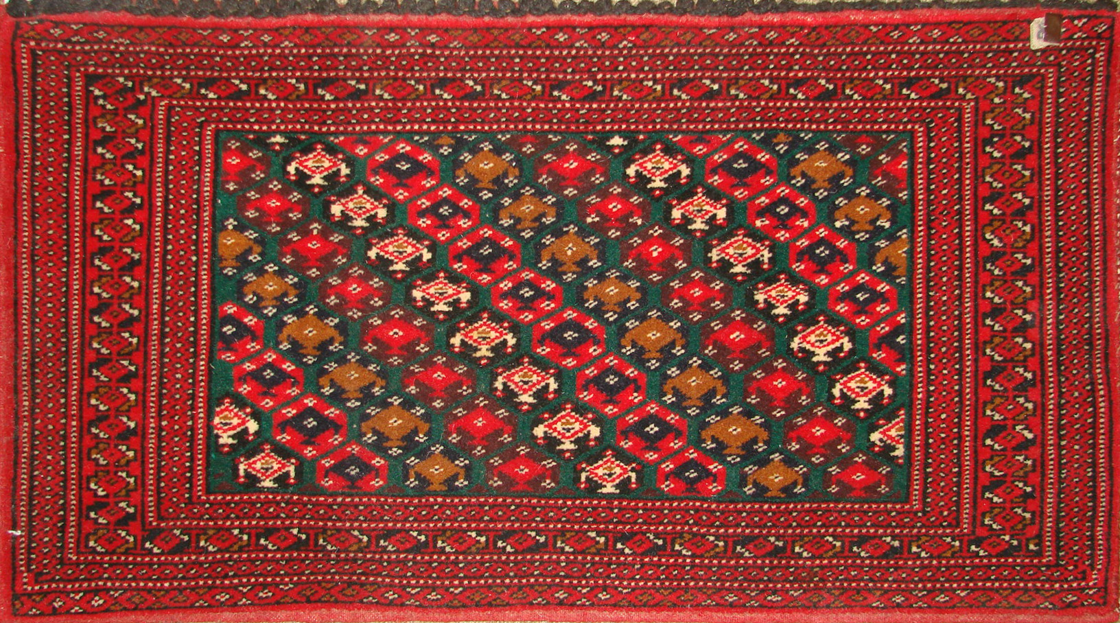 1.6X2 & SMALLER Bokhara Hand Knotted Wool Area Rug - MR19480