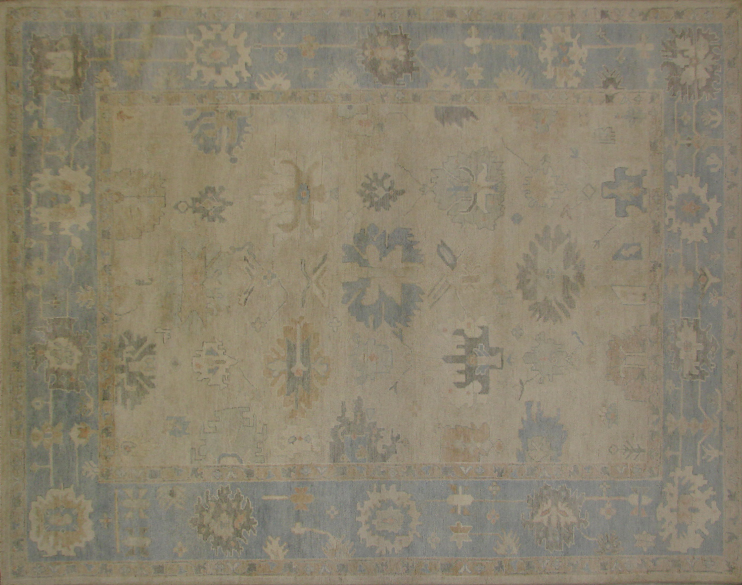 8x10 Oushak Hand Knotted Wool Area Rug - MR19506