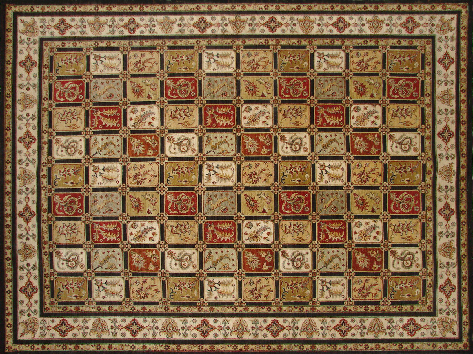 9x12 Traditional Hand Knotted Wool Area Rug - MR19607