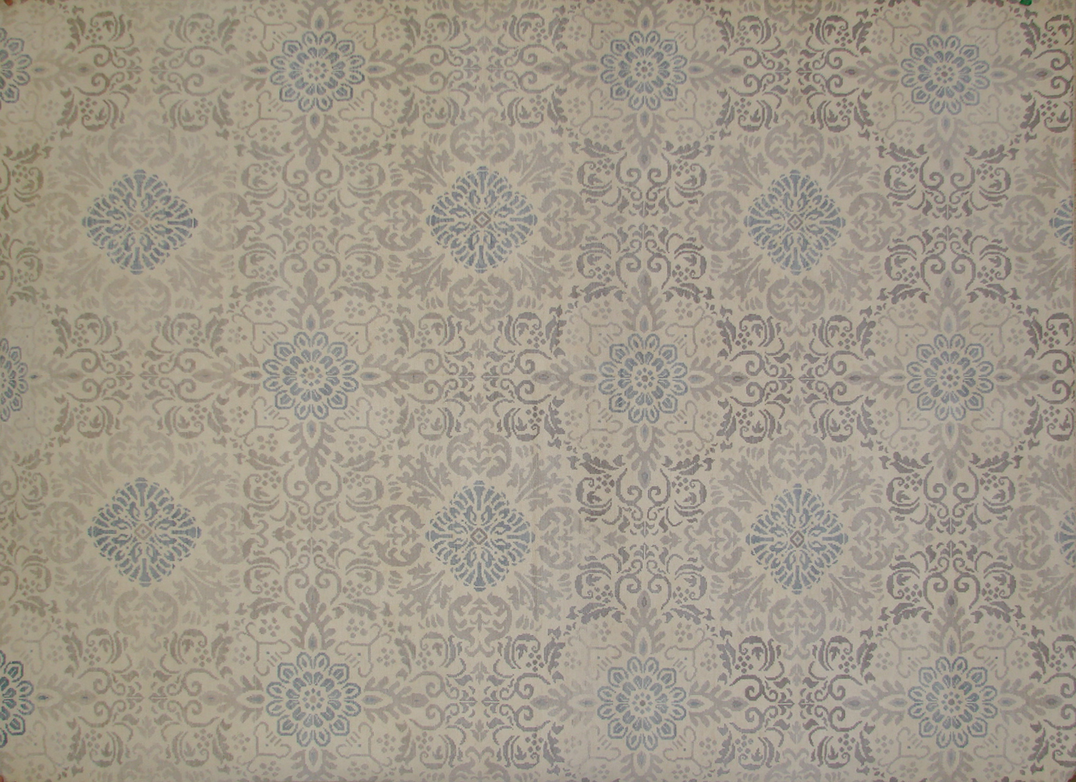9x12 Oushak Hand Knotted Wool Area Rug - MR19704