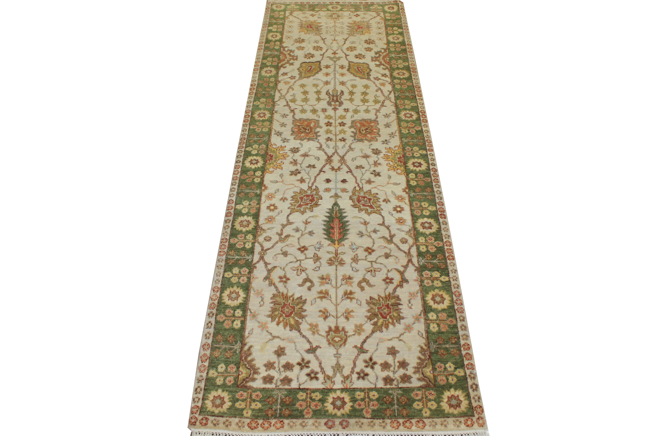 8 Runner Traditional Hand Knotted Wool Area Rug - MR19851