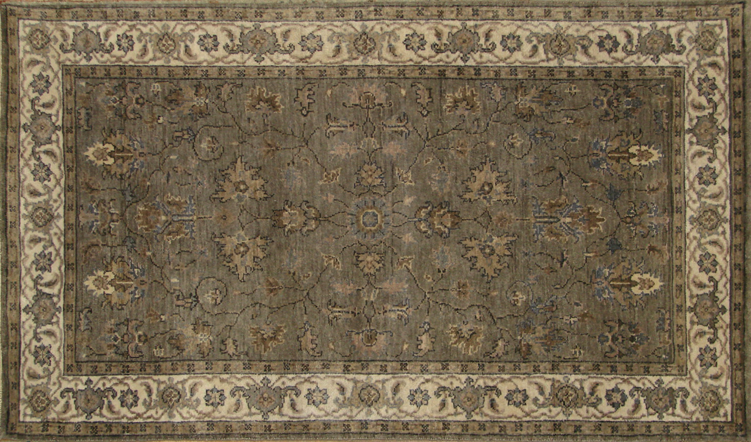 3x5 Antique Revival Hand Knotted Wool Area Rug - MR19884