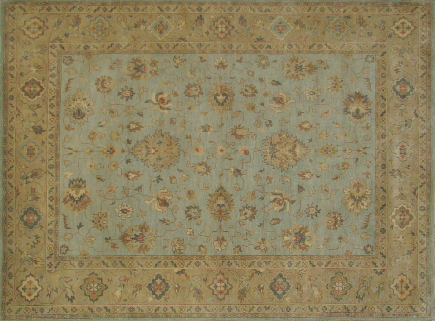9x12 Traditional Hand Knotted Wool Area Rug - MR19920