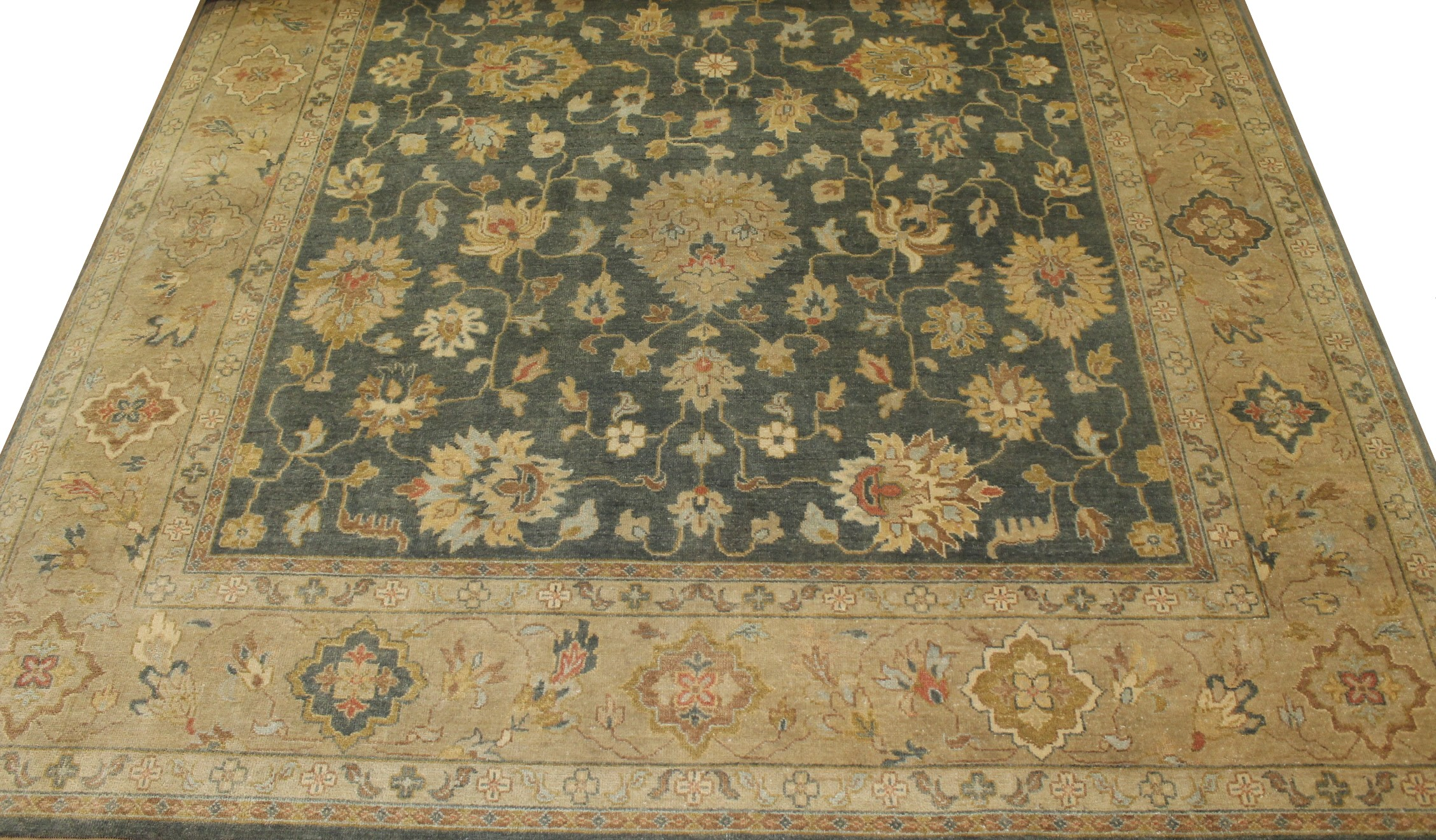 10x14 Traditional Hand Knotted Wool Area Rug - MR19922