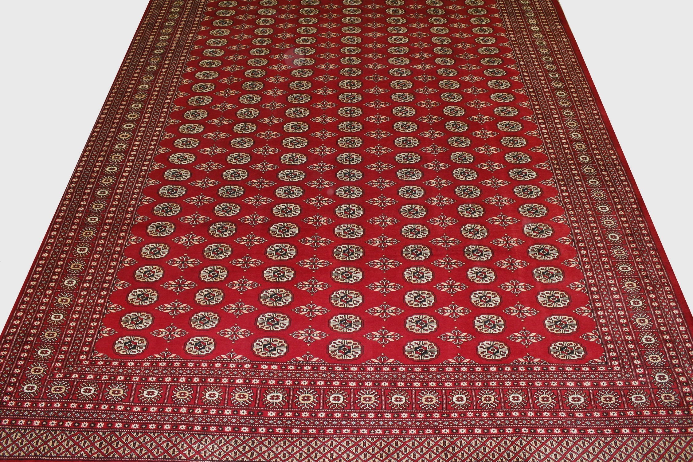 10x14 Bokhara Hand Knotted Wool Area Rug - MR20004