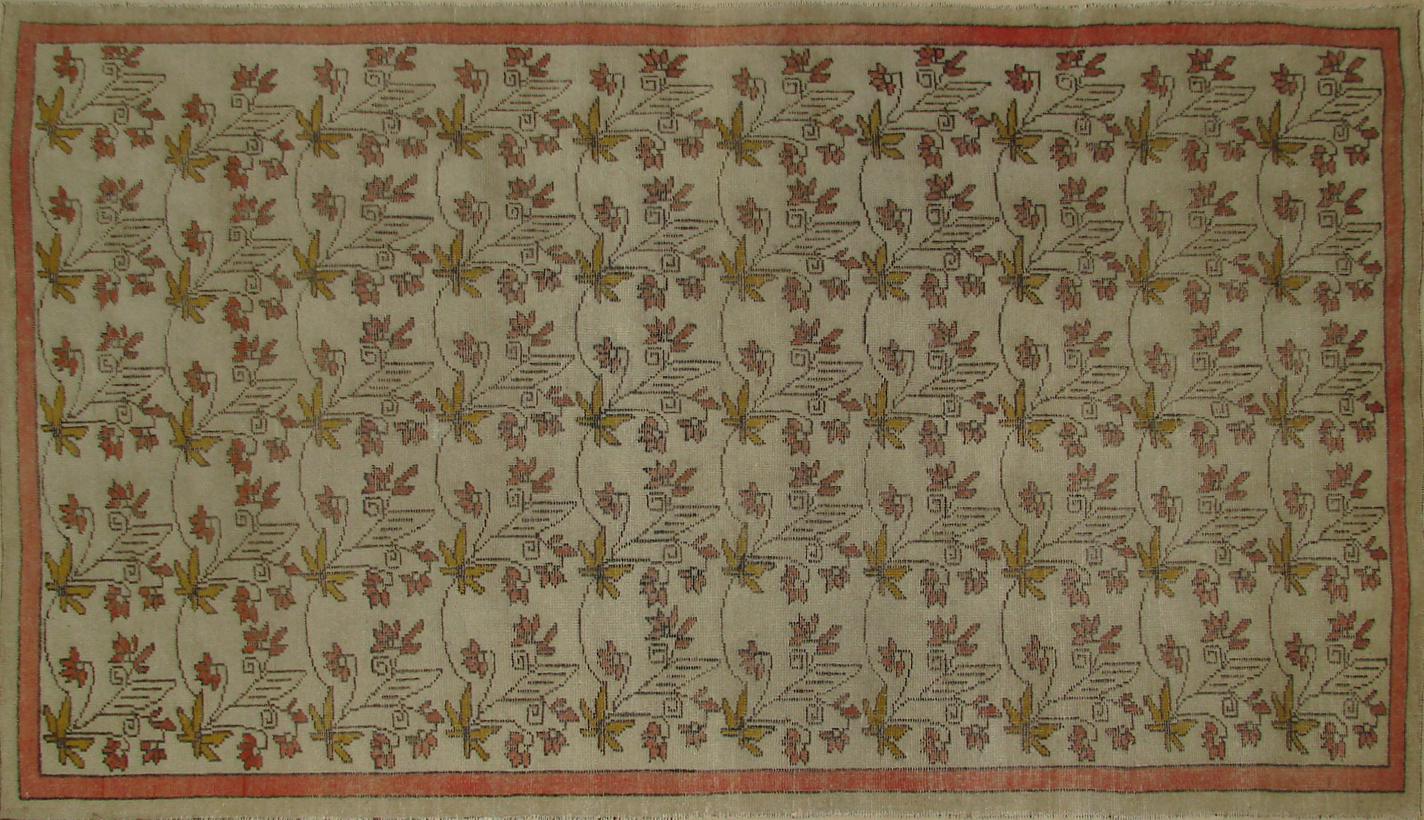 5x7/8 Oushak Hand Knotted Wool Area Rug - MR20149