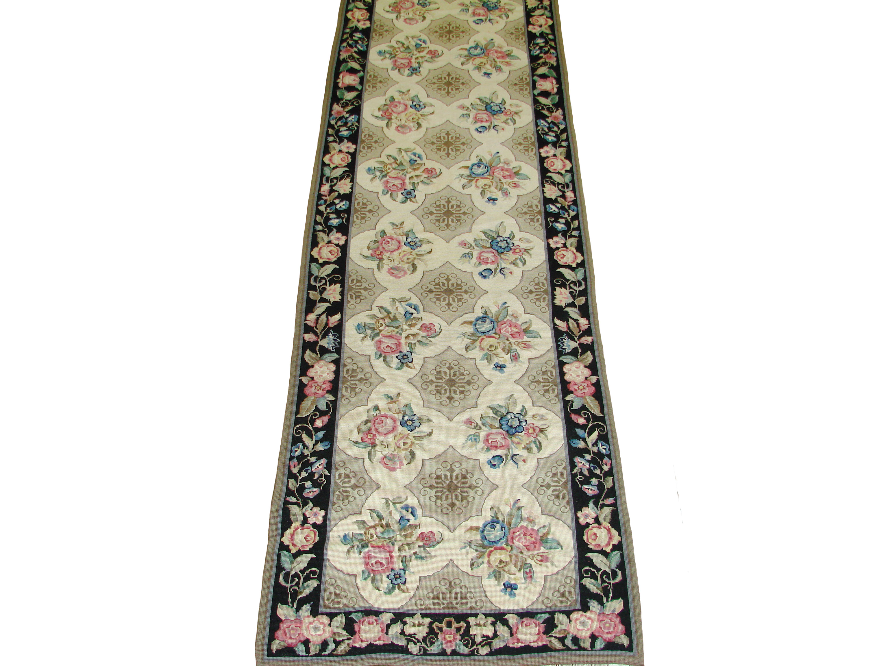 12 Runner Traditional Hand Knotted Wool Area Rug - MR20185