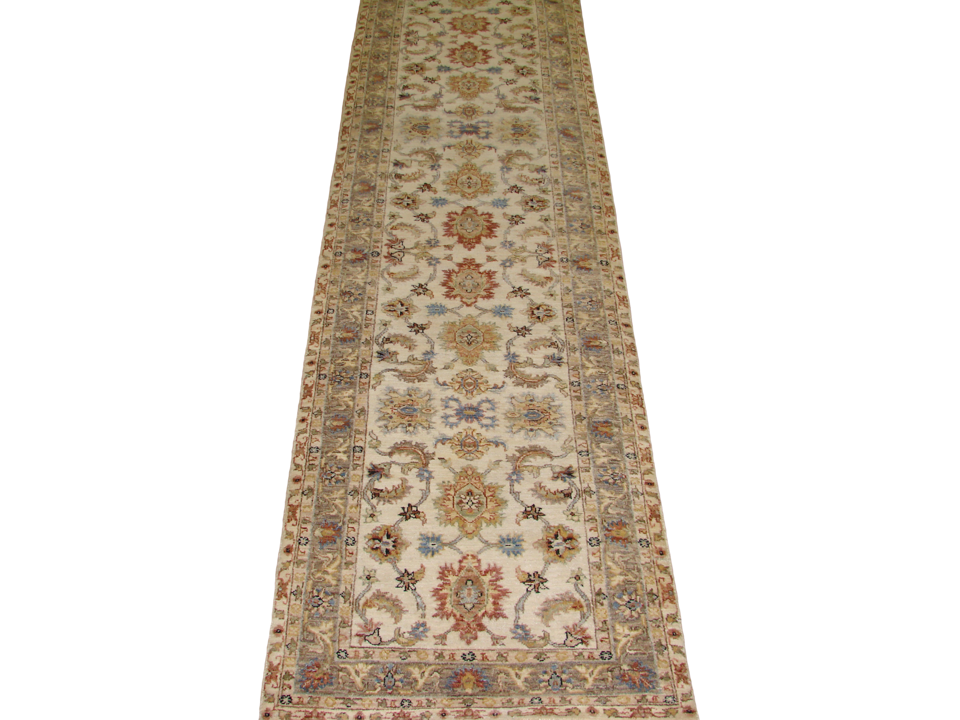 12 Runner Traditional Hand Knotted Wool Area Rug - MR20209