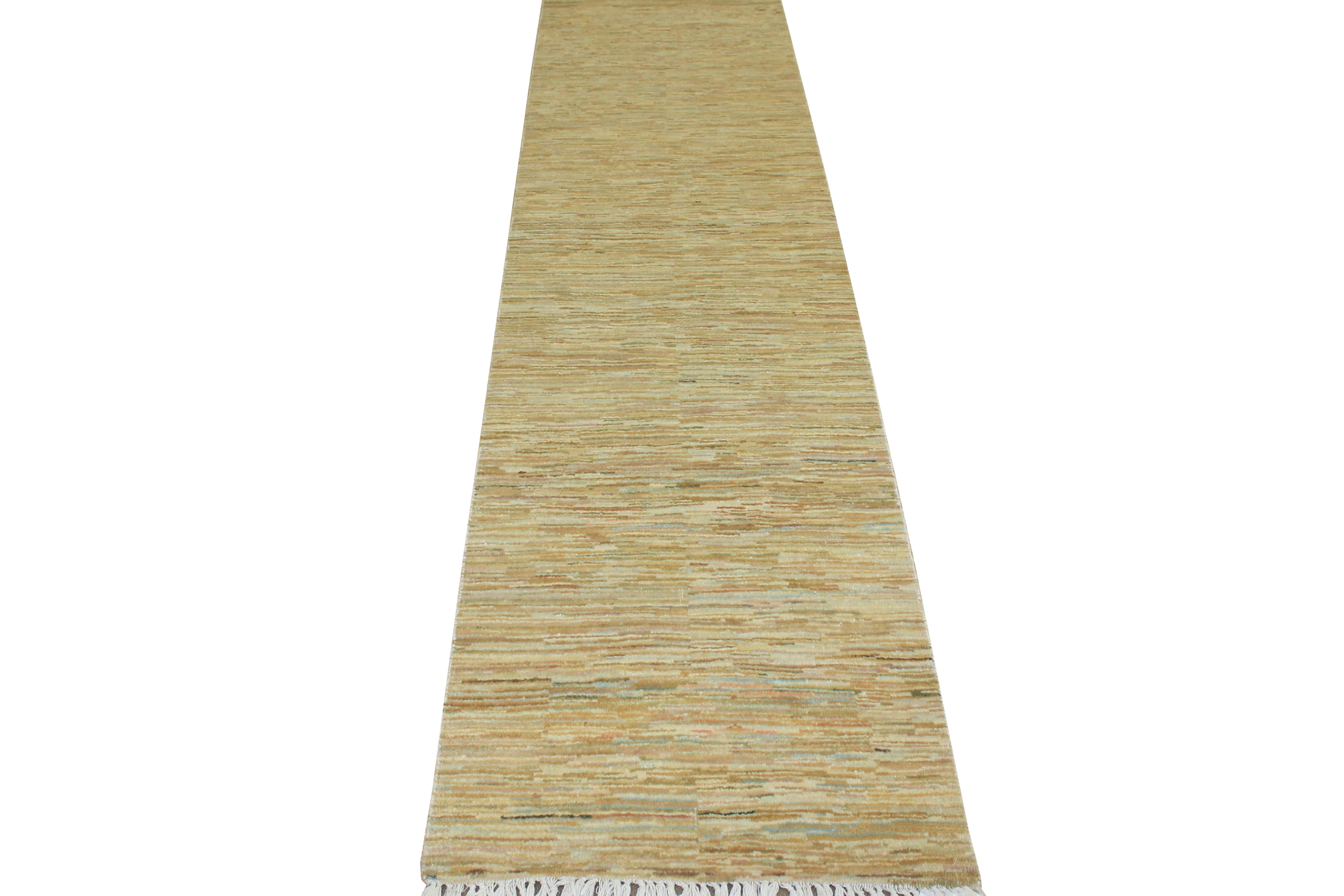 10 ft. Runner Contemporary Hand Knotted Wool Area Rug - MR2027