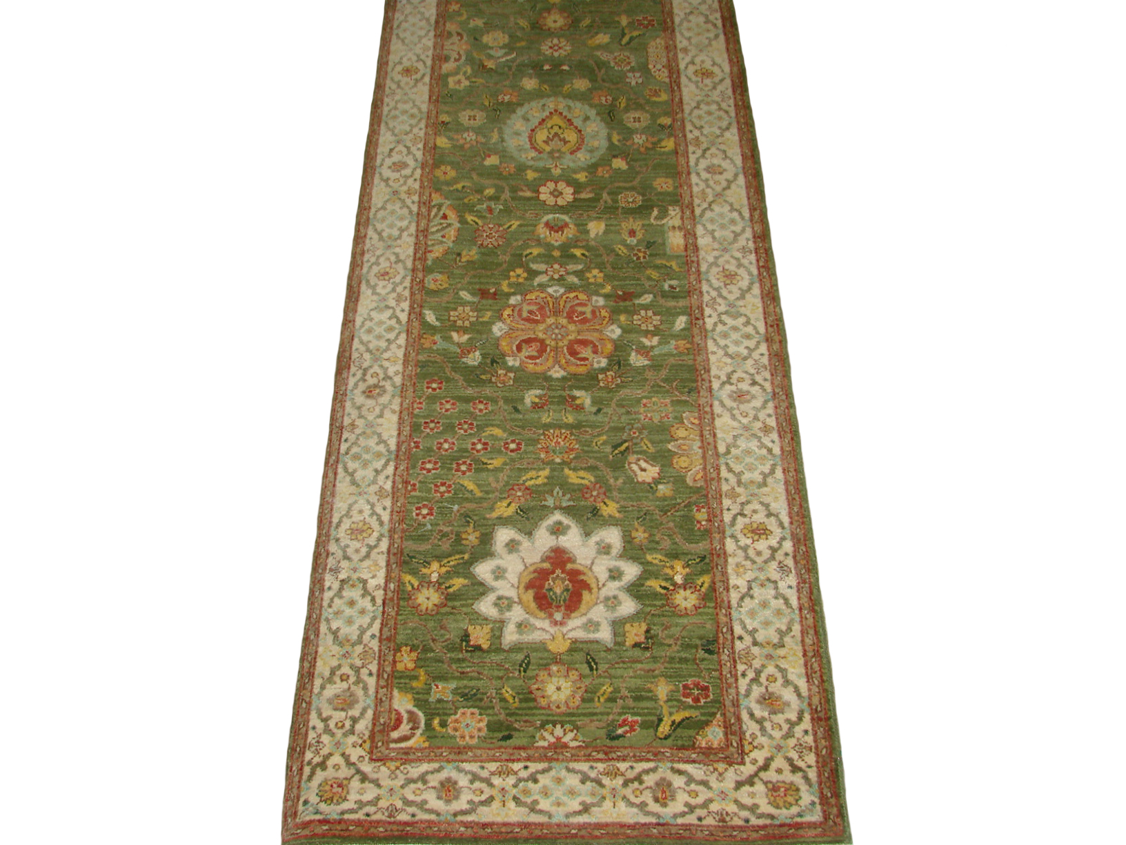 12 Runner Traditional Hand Knotted Wool Area Rug - MR20293