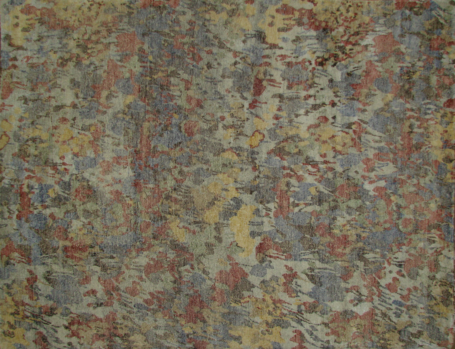 8x10 Contemporary Hand Knotted Wool Area Rug - MR20430