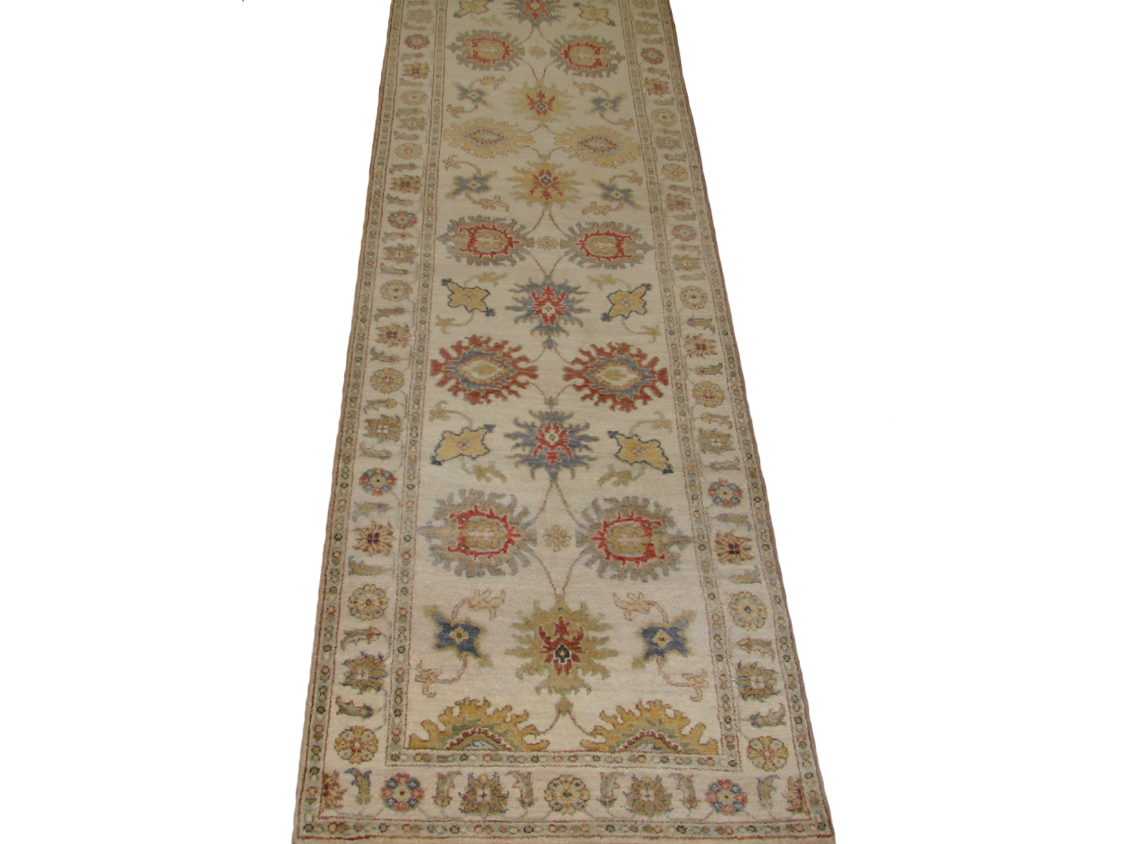 13 & Longer Runner Traditional Hand Knotted Wool Area Rug - MR20503