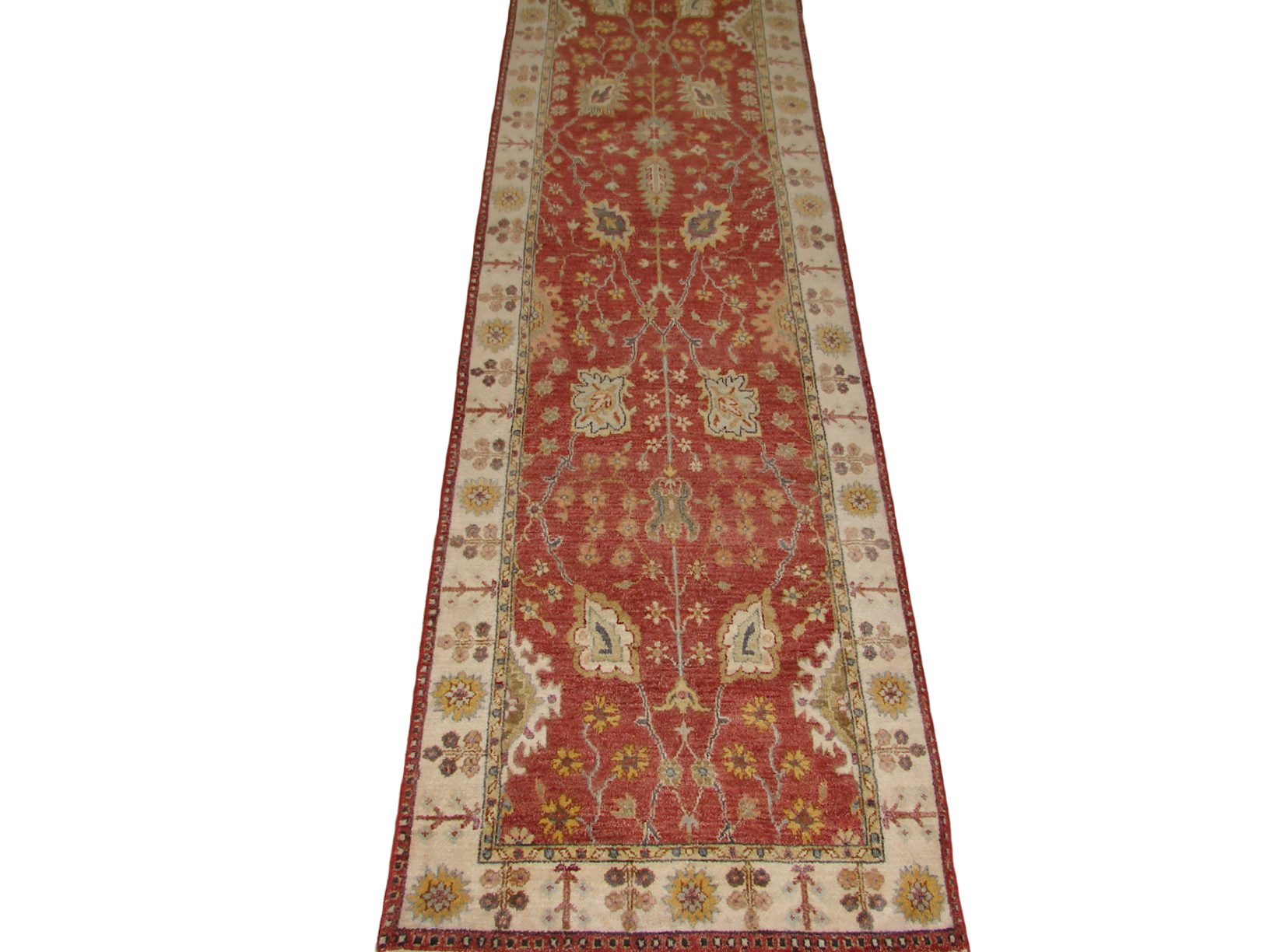 13 & Longer Runner Traditional Hand Knotted Wool Area Rug - MR20542