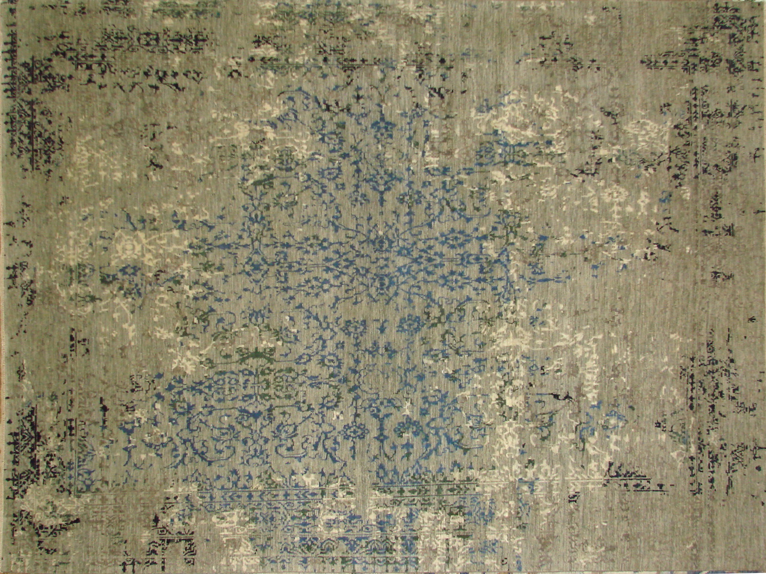 9x12 Contemporary Hand Knotted Wool Area Rug - MR20662