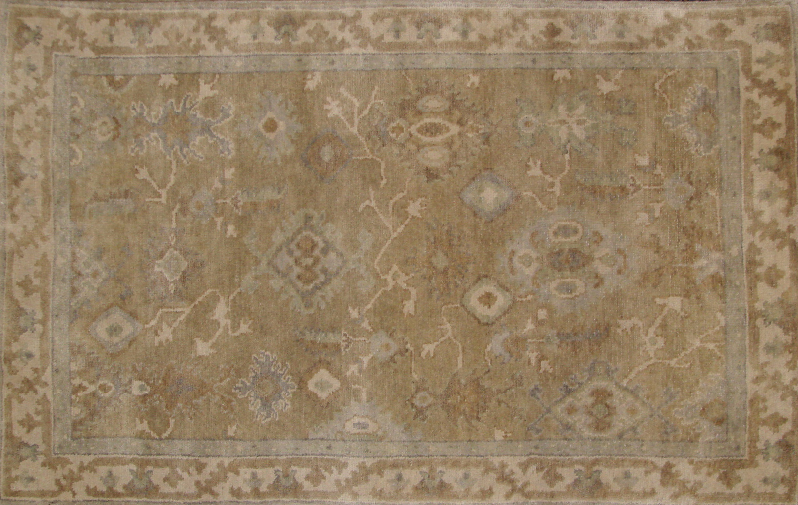 3x5 Oushak Hand Knotted Wool Area Rug - MR20694