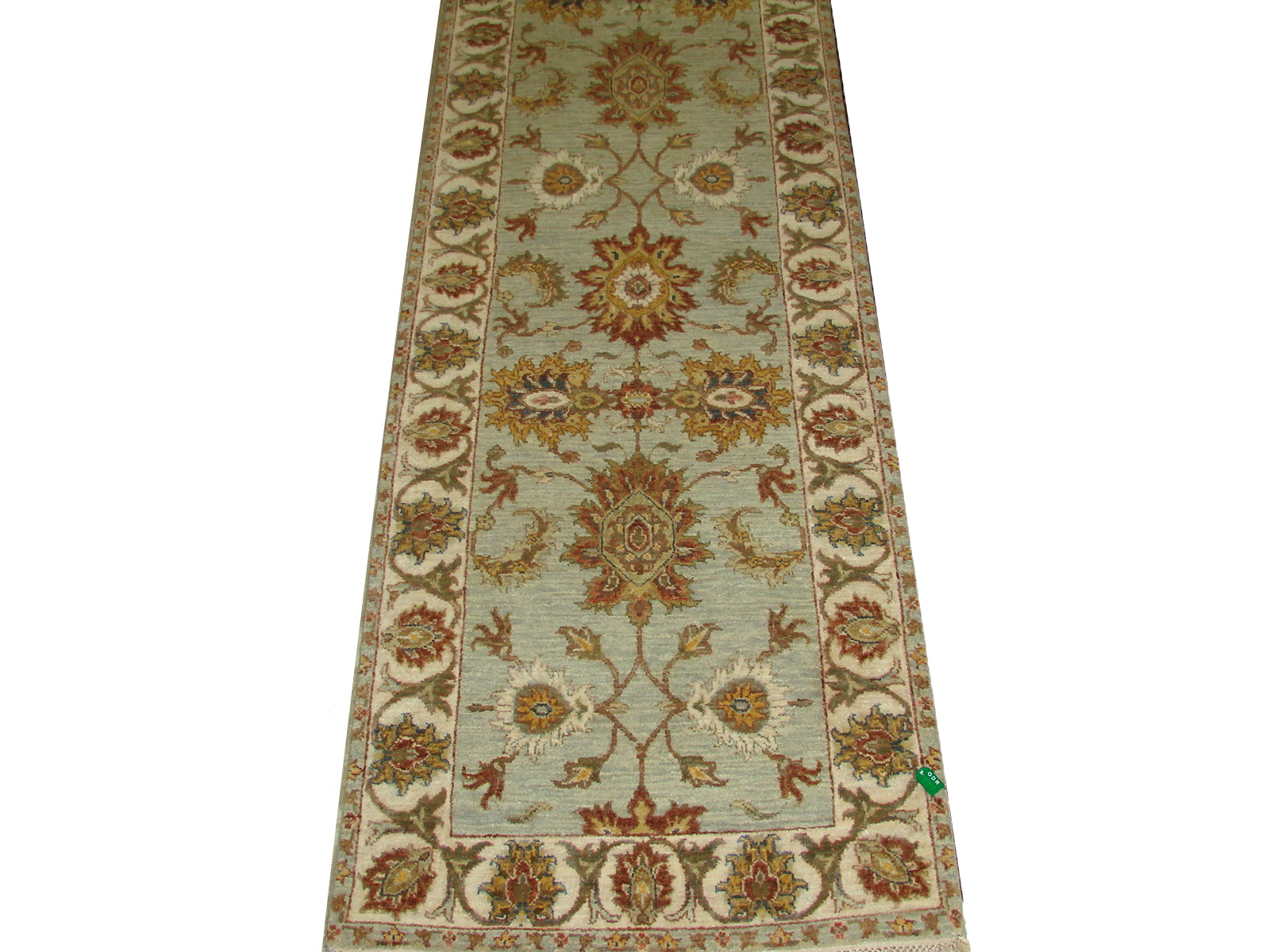 12 Runner Traditional Hand Knotted Wool Area Rug - MR20795