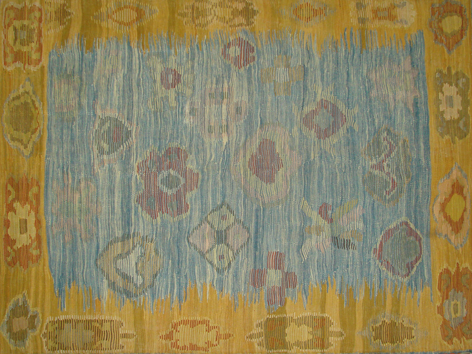 9x12 Oushak Hand Knotted Wool Area Rug - MR20843