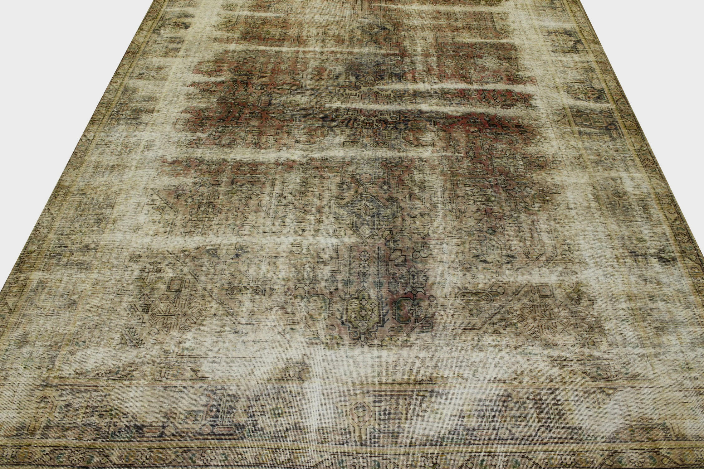9x12 Vintage Hand Knotted Wool Area Rug - MR20865