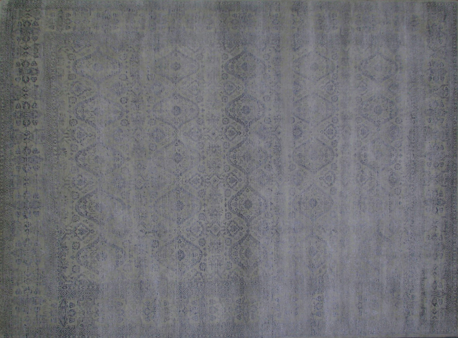 9x12 Contemporary Hand Knotted Wool Area Rug - MR20996
