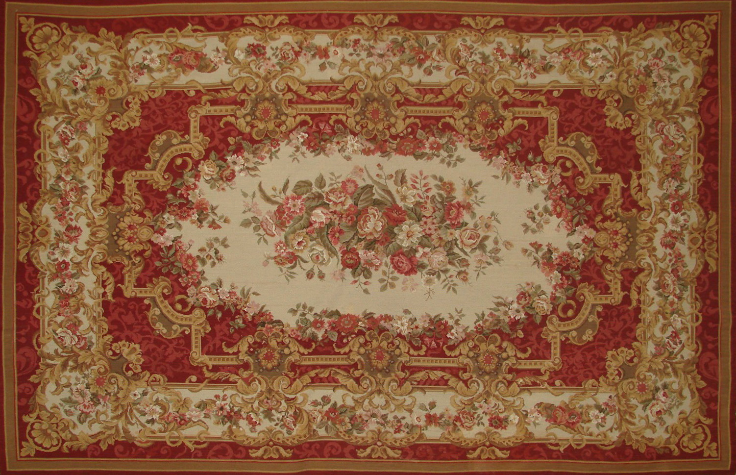 6x9 Flat Weave Hand Knotted Wool Area Rug - MR21012