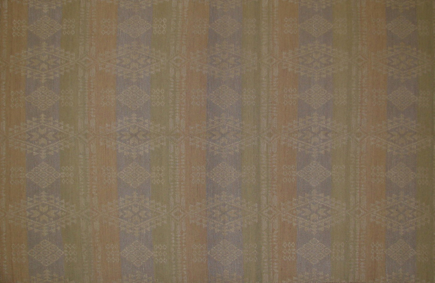 6x9 Flat Weave Hand Knotted Wool Area Rug - MR21029