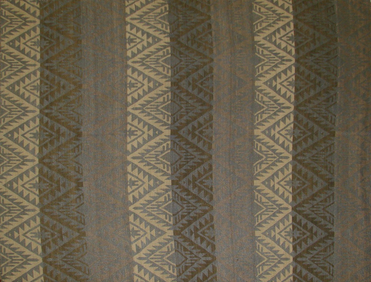 6x9 Flat Weave Hand Knotted Wool Area Rug - MR21038