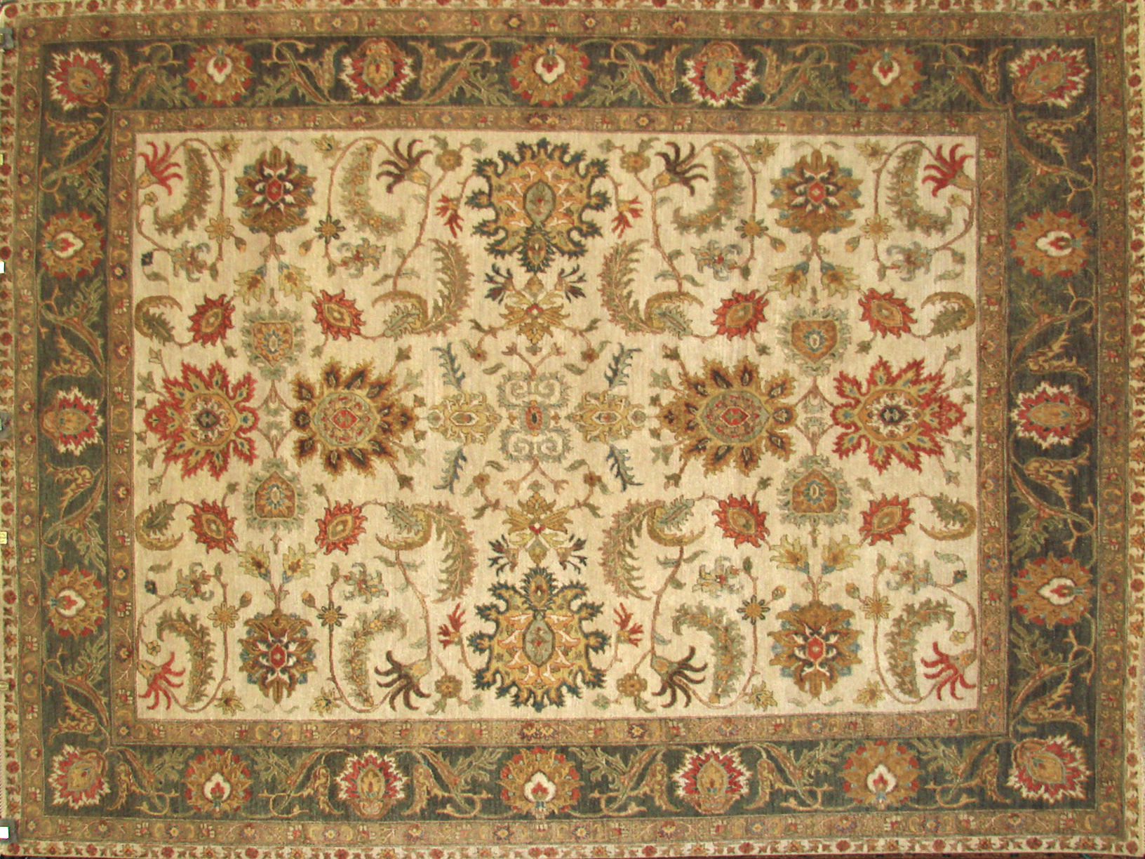 8x10 Traditional Hand Knotted Wool Area Rug - MR21200