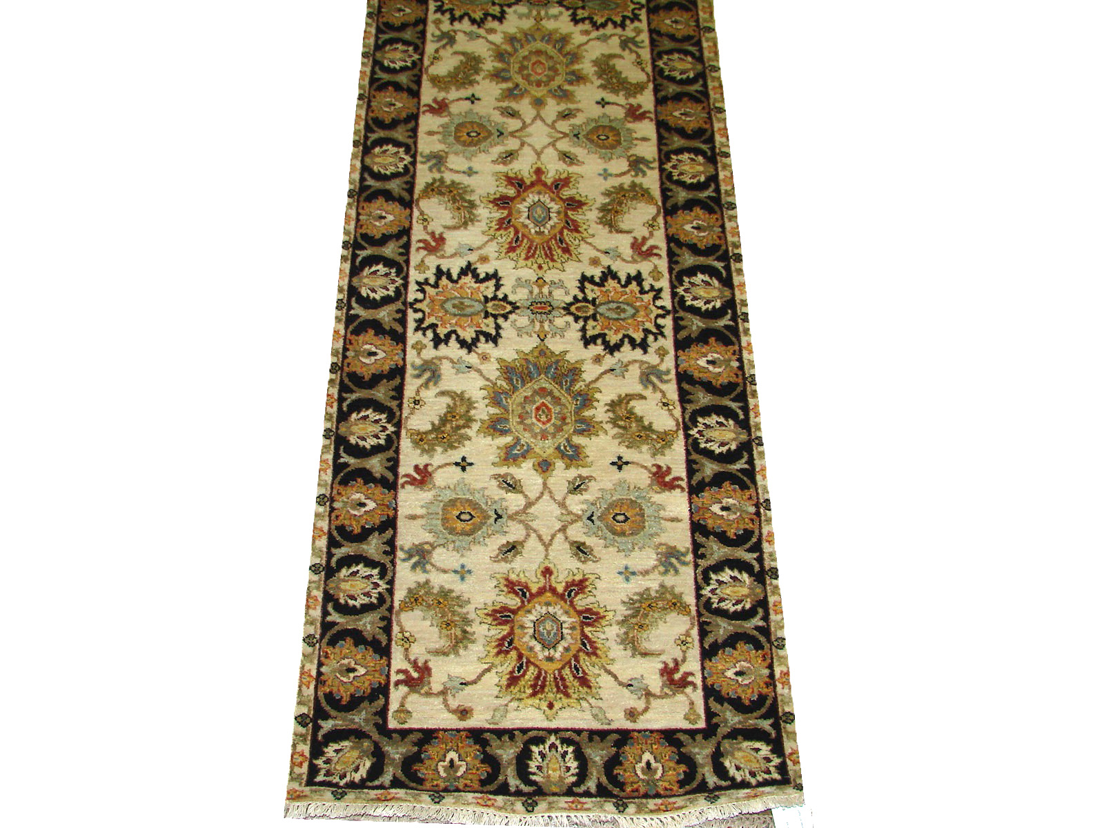 13 & Longer Runner Traditional Hand Knotted Wool Area Rug - MR21206