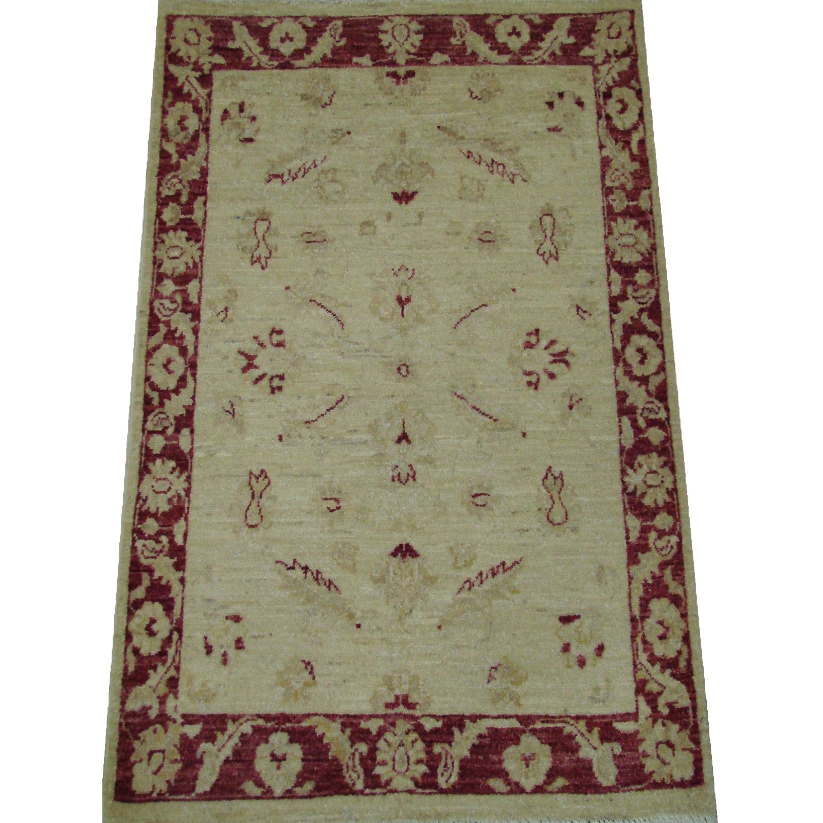 2X4 Peshawar Hand Knotted Wool Area Rug - MR21273