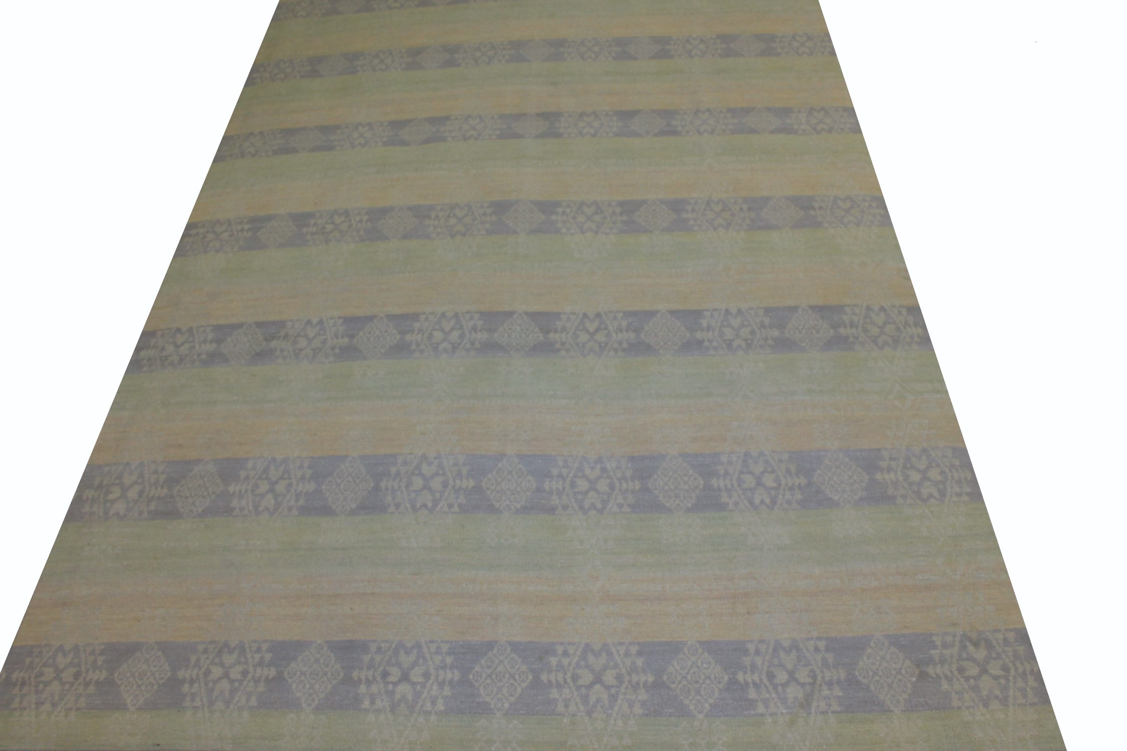 9x12 Flat Weave Hand Knotted Wool Area Rug - MR21298