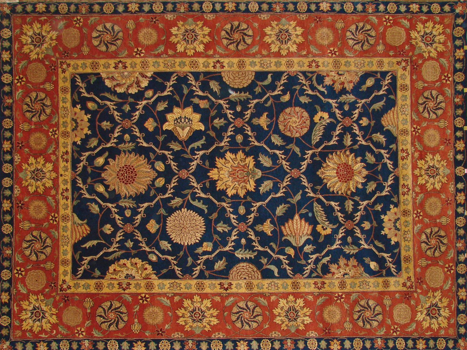 9x12 Jaipur Hand Knotted Wool Area Rug - MR2640